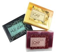 Beautyfrizz Soap Set, Honey, Wine and Dead Sea Natural Soaps