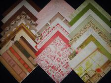 12X12 Scrapbook Paper Cardstock DCWV Dear Jane Stack Victorian Austen 24 Lot Kit