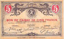 Montzen  5  Francs