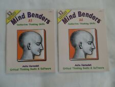 Critical Thinking - Mind Benders - Lot of 2 Level A books