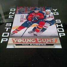 2013 14 UD YOUNG GUNS 488 NICK BJUGSTAD RC MINT/NRMNT +FREE COMBINED S&H