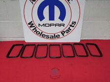 JEEP Grand Cherokee Grille Trim Ring Kit With Gloss Black Accents NEW OEM MOPAR