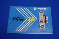 Olympus Pen D instruction Book (H)