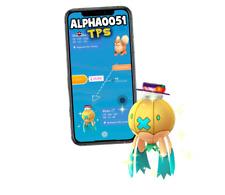 Pokemon Shiny Drifblim Halloween Mischief Registered Trade GO 20k or Ultra Frien