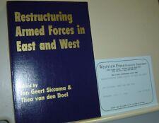 RESTRUCTURING ARMED FORCES IN EAST AND WEST Jan Geert Siccama THEO VAN DEN DOEL