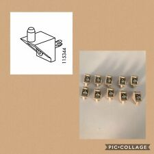 10 x IKEA 115344 BEIGE Shelf Support Pins For PAX And KOMPLEMENT