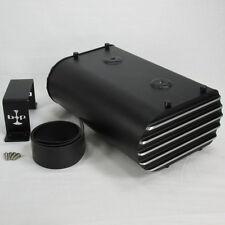 BLACK Motorcycle Electronics Box Storage Holder W/ Lithium Battery Strap AG801 S