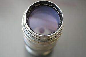 Rare Steinheil Tele-Quinar 135mm f2.8 VL Preset Lens Praktina Mt:E or PL adapter