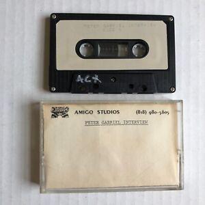 PETER GABRIEL In-House Interview Tape PROMO Cassette Rockline June 1986 Genesis