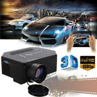 Home Theater 1200 Lumens HD HDMI 3D LCD Mini 1080P LED Video Portable Projector