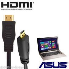 Asus TAICHI 21, Transformer Book T300 CHI Laptop HDMI Micro TV 2m Lead Cable