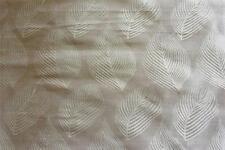 100% Pure Silk Leaf Jaquard in Gold Curtain fabric 1m