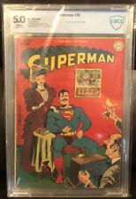Superman, Volume 1, #35 CBCS (VG/FN) 5.0 Grade (1945) - Not CGC