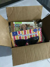 Mixed Lot of Baby and mom Items, Qty of 5, Pads sunglasses plastic spoon fork