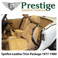Triumph Spitfire Carpet Set Leather Seat Covers & Trim Panels 1977-1980