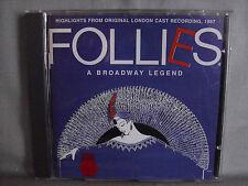 Follies- A Broadway Legend- 1987 London Cast- NEU