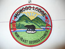 OA Mowogo Lodge 243,J-7,1990/91,Bear,CD,CB,Jacket Patch,JP,NE Georgia Council,GA