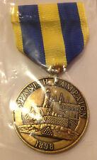 United States 1898 Spanish Campaign Medal - Navy - modern strike - MINT