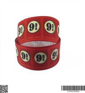 """Harry Potter Ribbon 1"""" (25mm) Wide 1m is £1.49 UK SELLER FREE P&P"""