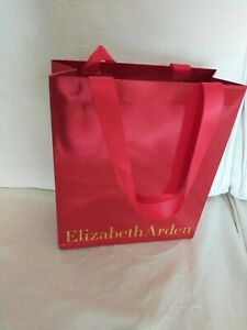 Elizabeth Arden used red small sized gift bag