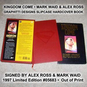 KINGDOM COME 1997 Graphitti Design Slipcase HC • Alex Ross • Superman Batman