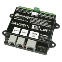 Digikeijs DR4088LN-CS 16 Channel Occupancy Feedback Detector Works With Digitrax