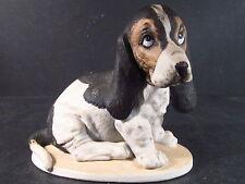 Homco Masterpiece 1983 Basset House Dog