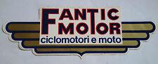 Adesivo Sticker FANTIC MOTOR  Ciclomotori e Moto  cm 21 x 7 circa  Perfetto