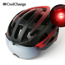 Unisex Adult Adjustable MTB Road Bike Cycling Helmet Safety Helmet w/ Taillight
