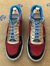 Gucci Sneaker Uomo Scarpe da ginnastica edizione limitata 2008 Multi Tg UK 8.5 US 9.5 42.5