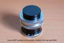 REAR lens cap Kern Paillard Switar Pizar 10mm 16mm 26mm 50mm 75mm 25mm C-Mount