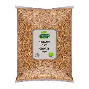 Organic Oat Groats Certified Organic