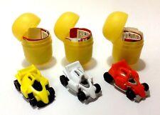 KINDER SURPRISE TOYS COMPLETE SET SPRINTY FRICTION CARS  SE164 SE165 SE166