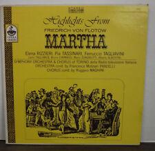 HIghlights From Friedrich Von Flotow Martha Opera Series (E) S-7406 092917mne