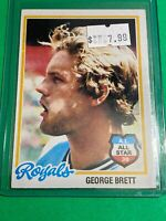 🔥 1978 TOPPS Baseball Card Set #100 🔥 KANSAS CITY ROYALS 🔥 GEORGE BRETT