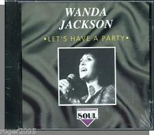 Wanda Jackson - Let's Have a Party - New Rockabilly CD! 1992 Charly UK Edition!