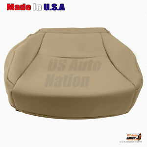 For 2015 2016 2017 2018 2019 Toyota 4Runner Driver Bottom Leather Seat Cover Tan