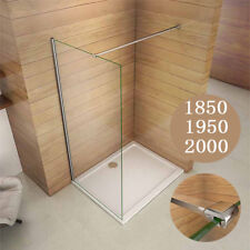 Quality 1700x900x30mm Slimline Shower Enclosure Rectangle Stone Tray Waste
