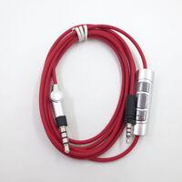 Cable Remote & Mic for Sennheiser Momentum 1.0 2.0 Over-Ear On-Ear Headphones