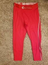 Ethika Men's S Compression 3/4 Tights Subzero Red Performance Underwear
