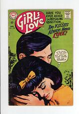 GIRLS' LOVE STORIES #132 - VERY SCARCE DC  ONLY 2 ON CGC - GGA 1968