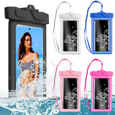 Floating Waterproof Pouch Dry Bag Underwater Swimming Case Cover For Cell Phone
