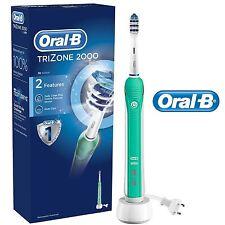 Oral-B Braun Trizone 2000 Brosse à Dents Électrique + 1 Tête de Brosse Neuf