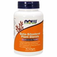 90 SOFT GELS Beta-Sitosterol Plant Sterols with CardioAid -S Plant Sterol Esters