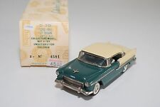 \ BUBY COLLECTOR'S CLASSICS CHEVROLET 1955 CONVERTIBLE GREEN CREAM MINT BOXED