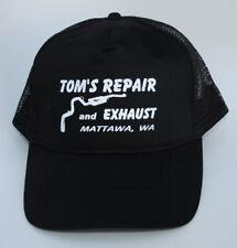 TOM'S REPAIR and EXHAUST MATTAWA WA One Size Snapback Trucker Baseball Cap Hat