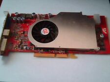 ATI AGP Video Card Radeon X800 X800XL AGP 256M 109-A49001-00 VIVO