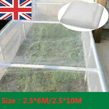 More details for 6/10m garden vegetable plant protection netting fine mesh insect protection net