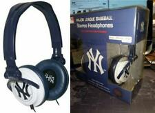 New York Yankees MLB Ihip Extra Point Headphones Ipod Iphone MP3 Compatible