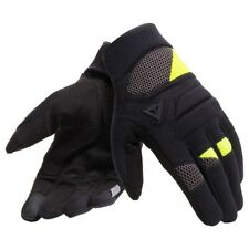 Motorcycle Gloves DAINESE FOGAL black/yellow - size L